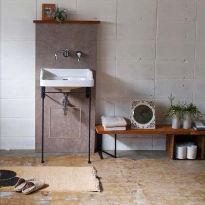 大阪府大東市の北欧住宅建材販売オストコーポレーション関西の取り扱いブランドエッセンスの洗面手洗陶器・水栓