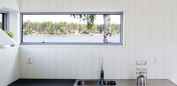 大阪府大東市の北欧住宅建材販売オストコーポレーション関西の取り扱いブランド北欧木製三層ガラス窓のフィックス窓