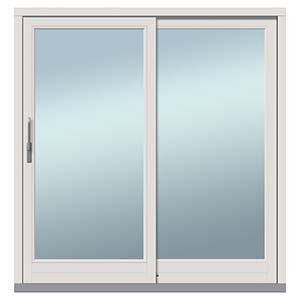 大阪府大東市の北欧住宅建材販売オストコーポレーション関西の取り扱いブランド北欧木製三層ガラス窓の引き戸(スライディングドア)