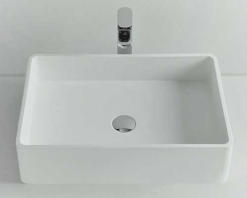 大阪府大東市の北欧住宅建材販売オストコーポレーション関西の取り扱い洗面ボウルのideavit SOLIDCUBE-60